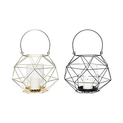 [Hubsch] Lantern w/glass & handle 랜턴