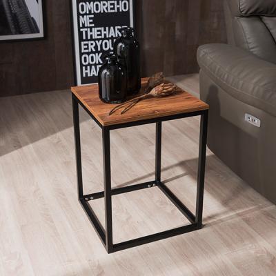 [채우리] 브런트 스틸 사각 사이드테이블