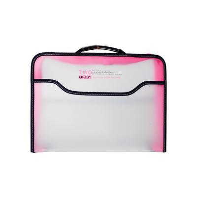 7500 빅핸디 지퍼화일백(핑크)
