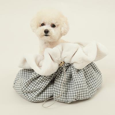 강아지가방 이너백 애견쿠션 보듬이너백