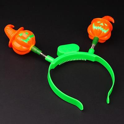 럭셔리 LED 호박머리띠 (오렌지)