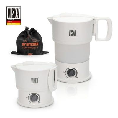 비스카 여행용 접이식 무선 전기포트 VK-SK100DV