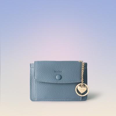 [이니셜 커스텀] Big pocket point wallet _ Sky blue