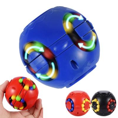 회전 매직빈 피젯 큐브 볼 스피너 매직 퍼즐 장난감