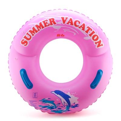 SUMMER 손잡이 원형튜브(핑크)(86cm)