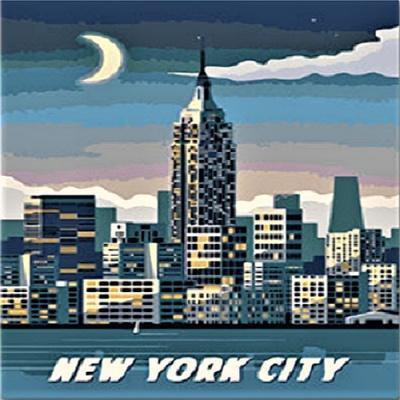 [DIY명화]P4-14세계명소 뉴욕 size 30x40cm
