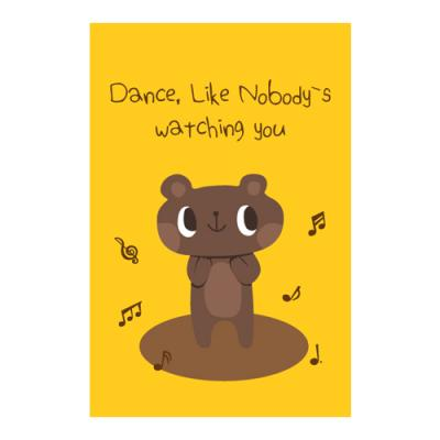 왈가닥스 비프렌드 포스트카드 엽서 - bear