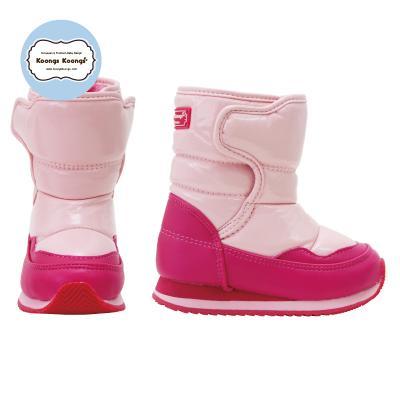 [패딩부츠] 루아스노우패딩부츠(핑크) 유아동방한부츠 유아방수부츠