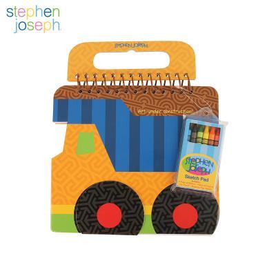 스케치북 크레용세트 - 트럭