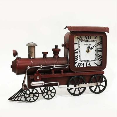 홈스타일링 기차 탁상시계CH1485581