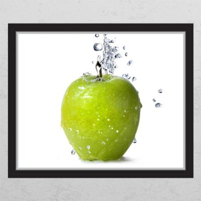 ij884-싱싱한초록사과_창문그림액자