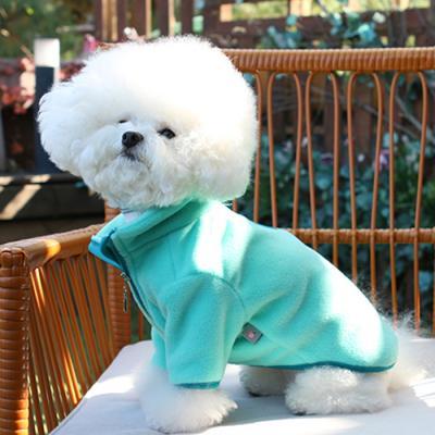 유아러피치 포인트 후리스 강아지겨울옷