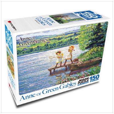 빨강머리 앤 직소퍼즐 150pcs: 반짝이는 호수