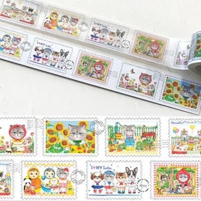 마스킹테이프 - 루미의 우표수집