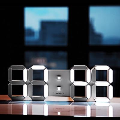 루미너스 2019 시그니쳐 3D LED 국산 벽시계 중형
