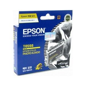 엡손(EPSON) 잉크 C13TO59870 / 매트검정 / Stylus Photo R2400