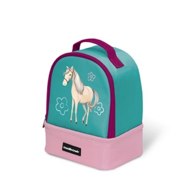 [스크래치] Horses Double Decker Lunchbox