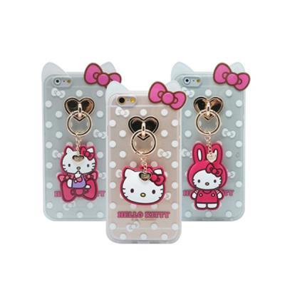 [Hello Kitty]키티챠밍테슬-아이폰6/6s/6s플러스