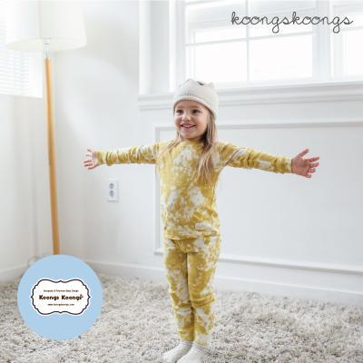 [긴팔실내복]스노우옐로실내복 유아실내복 아동실내복