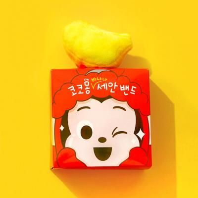 [코코몽] 바나나형 세안밴드