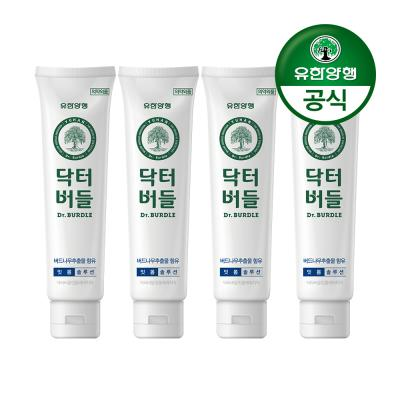 [유한양행]닥터버들 잇몸케어 치약 100g 4개