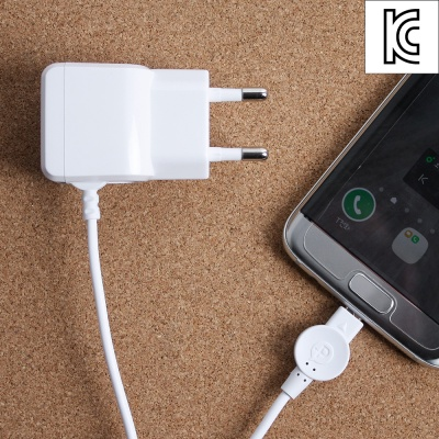 마이크로 5핀 스마트폰 충전기(일체형)