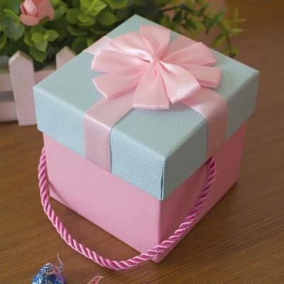 엔젤박스 리본 선물상자 선물포장박스