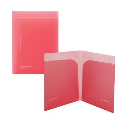 1700 도톰한 투포켓 화일(핑크)