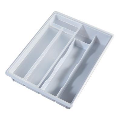 싱크대 서랍 주방용품 2층 수저 포크 4칸 정리 보관함