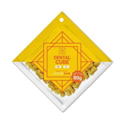 덴탈큐브 황태&치즈80g  강아지간식