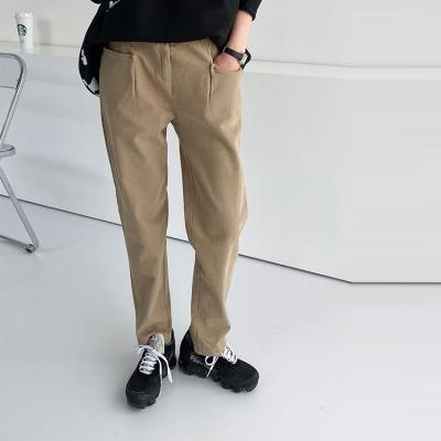 Gimo Pocket Semi Baggy Pants - 기모안감