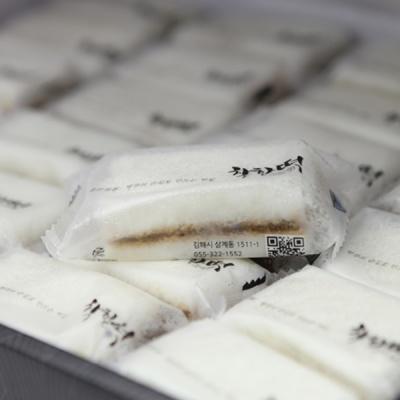 [착한떡] 우유꿀백설기 30개입
