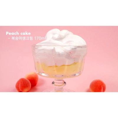 [젤시스슬라임] 복숭아케이크 슬라임 250ml