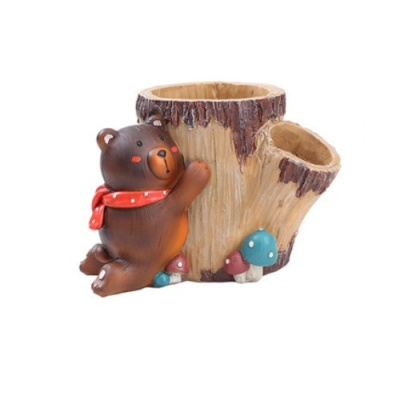 ROOGO 루고화분 곰돌이 뒷동산 나무야사랑해