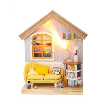[adico]DIY 미니어처 싱글하우스 - 거실