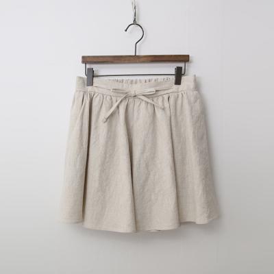 Linen Alice Shorts - 치마바지