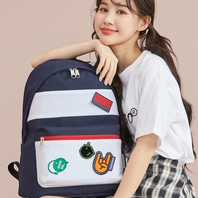 aileen 키치 와펜 백팩 가방 캐주얼가방 학생가방