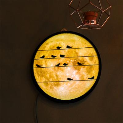 no154-LED액자25R_밤하늘보름달