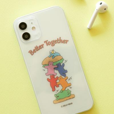 젤리 베어 폰 데코 필름 (iPhone12Pro/12) -01 Burger