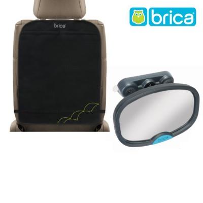 브리카) 킥매트 디럭스 + 차량용 후방거울