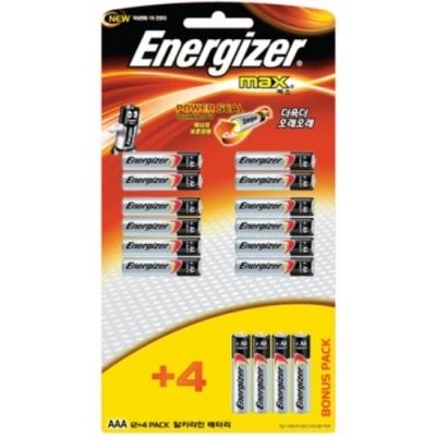 [에너자이저] 에너자이저건전지MAX AAA (12P+4P) [판/1] 332149