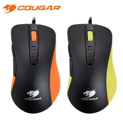 쿠거 게이밍 마우스 COUGAR 300M (4000DIP / 1000Hz 폴링 스피드 / DPI 변환 버튼 / 서브 버튼 / OMRON 마이크로 스위치)