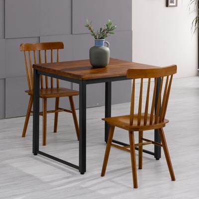 유럽형 아카시아 2인 식탁+의자800 세트 FN702-10