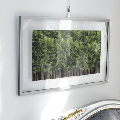 ga374-투명액자58CmX38Cm_잠시쉬어가는대나무숲