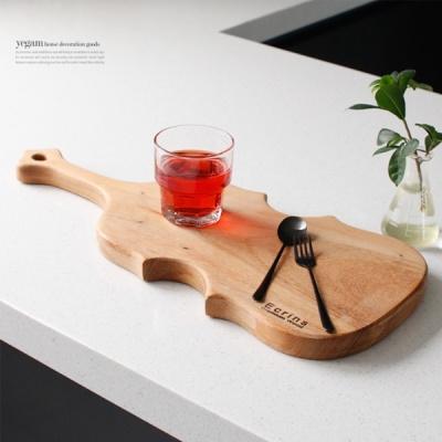 [2HOT] 레인트리 통원목 바이올린 도마 (대)