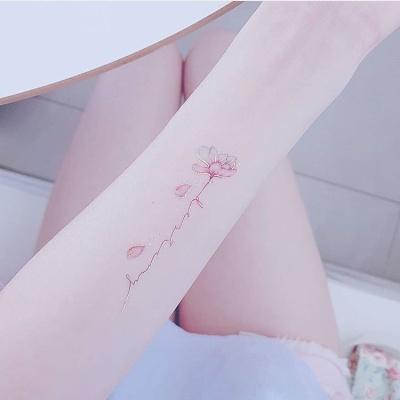 페이퍼셀프 타투스티커 - 1. Flower Script