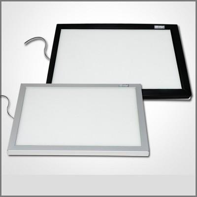 아트라이트 메탈500 슬림형 LED 라이트보드 라이트박스 애니메이션 및 디자인 패턴작업
