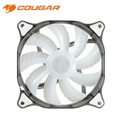 쿠거 시스템 쿨러 COUGAR DUAL-X 140mm WHITE LED FAN
