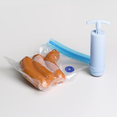 식품용 진공압축팩(25장 1세트)+핸드펌프