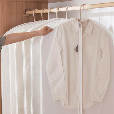 반투명 의류 옷 코트 덮개 커버 행거 (특대) 5pc